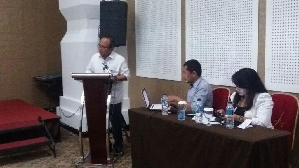 Dirjen PDTu Dr. Suprayoga Hadi Memberi Arahan Kepada Peserta Sosialisasi